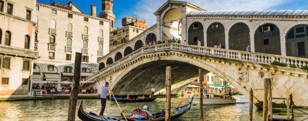 Venedig Gondelfahrt für Ihre Klassenfahrt