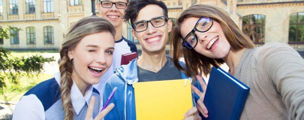 Schüler bei Sprachwoche in Österreich